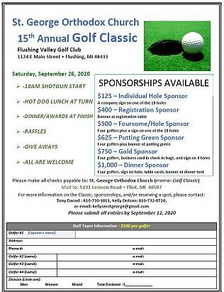 Golf Flyer & Registration